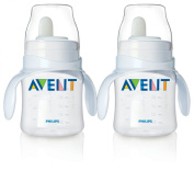 Philips Avent Bottle to First Cup Trainer 4 Months and Up - Natural