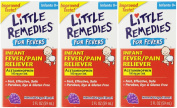 Little Remedies Infant Acetaminophen Fever/Pain Reliever, Grape Flavour, 60ml