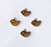 20 pcs Mini Bird Pendant Charm Connector Gold Plated Necklace Earring Bracelet Jewellery FREE combine shipping from US AC040