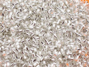 3000pcs Silvery Plated Stop Beads