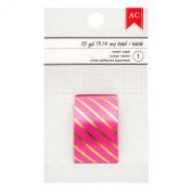American Crafts Valentine's Washi Tape 10 Yard Pink Cream
