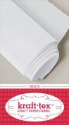 Kraft-tex Paper Fabric 46cm x 1.5 Yard Roll White