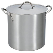Mainstays 11.4l Stainless Steel Stock Pot with Metal Lid