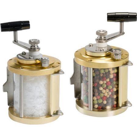 Galleyware Company Ocean Reel Salt and Pepper Mills (Set of 2) by ...