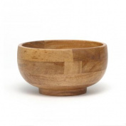 Lipper Small Footed Wooden Rice Bowl - Set of 4