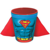 DC Comics Superman Character Chest Moulded Ceramic Caped Shotglass