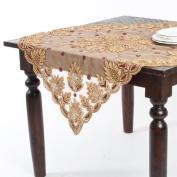 Saro Hand Beaded Tablecloth