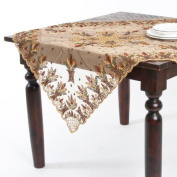 Saro Hand Beaded Table Topper