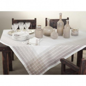 Saro Striped Tablecloth