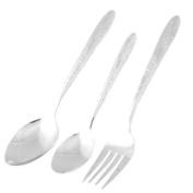 Home Tableware Stainless Steel Fork Porridge Rice Spoon Set Dinnerware