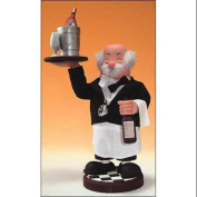 30cm Zims Heirloom Collectibles The Wine Waiter Christmas Nutcracker