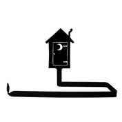 Village Wrought Iron PT-B-256 Outhouse - Paper Towel Holder Horizontal Wall Mount