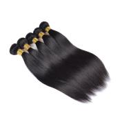 Wighairbeauty Peruvian Virgin Hair Straight Human Hair Weave 50g50ml Bundle Total 50g