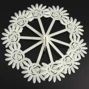 120 Tips Nail Art Design Acrylic Polish Fan Practise Sticks