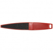 Diane Double-Sided Red Foot File with Textured Handle