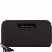 Lancaster Paris Nylon & Patent Leather Wallet