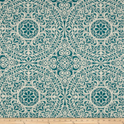 Richloom R Gallery Tachenda Teal Fabric