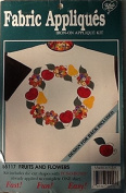 Fruits and Flower Fabric Iron on Applique Kit 55117