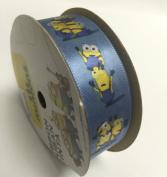 2.2cm Licenced Minion Ribbon - 2.7m Spool