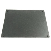 Slate Cheeseboard Chalkboard with Anti-slip, 41cm