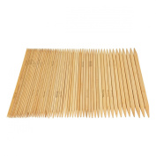 Celine lin 15 sizes(75picks) 8inch''(20CM) Double Pointed Bamboo Knitting Needle US 0-15