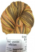 Hand Dyed Baby Alpaca Yarn, Hand Painted Hammered Copper, Dk Weight, 80 Grammes, 200 Yards, 100% Baby Alpaca