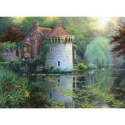 Scotney Castle Garden Counted Cross Stitch Kit-41cm x 30cm 16 Count