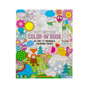 Adorox Spiral Notebook Perforated Adult Colouring Book