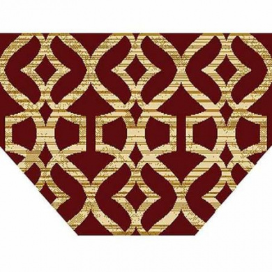 Home Dynamix Royalty Collection Hearth Area Rug, Red, 60cm x 100cm