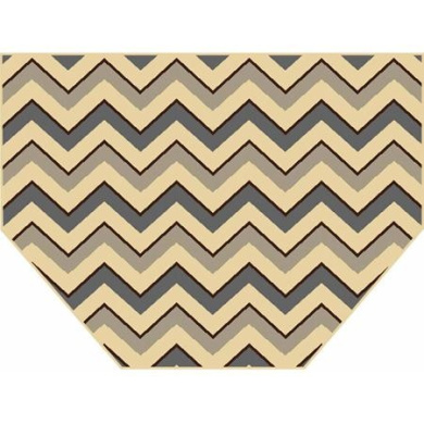 Home Dynamix Royalty Collection Hearth Area Rug, Grey and Ivory, 60cm x 100cm
