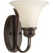 Progress Lighting P2095 Bathroom Fixtures Applause Indoor Lighting Bathroom Sconce ;Antique Bronze
