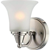 Nuvo Lighting 60/4141 Bathroom Fixtures Surrey Indoor Lighting Bathroom Sconce ;Brushed Nickel