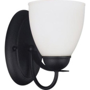 Sea Gull Lighting 44470 Bathroom Fixtures Uptown Indoor Lighting Bathroom Sconce ;Blacksmith
