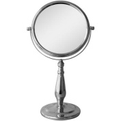 Freestanding Bath Magnifying Makeup Mirror