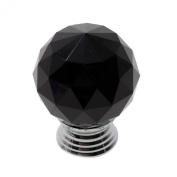 MMRM Crystal Ball Shape 30mm Drawer Knob Cabinet Shutters Cupboard Pull Handle 1Pcs