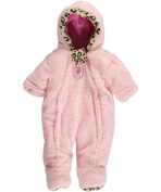 "U.S. Polo Assn. Baby Girls' ""Leopard Bow"" Pram Suit"