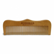 Pear Wood Comb Engraved w/ Logo
