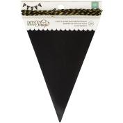 Diy Shop 2 Banner 24Pcs-Chalkboard Pennant, 11cm x 18cm