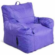 Small Arm Chair Bean Bag, Purple