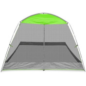 Caravan Canopy 3m x 3m Screen House Shelter, Lime Green