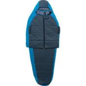 Ozark Trail 10-Degree Adult Thinsulate Wearable Sleeping Bag, Sky Blue/Charcoal