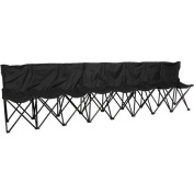 Trademark Innovations Portable 8-Seater Sports Bench