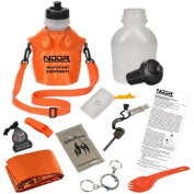 NDuR 1360ml Survival Canteen Kit with Advanced Filter