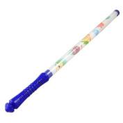 Christmas Party White Blue Plastic Flashing RGB LED Stick 47cm Long