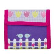 Aquarella Kids Girls Purple Birds Wallet