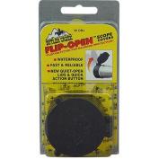 Butler Creek Flip-Open Scope Cover, Fits 4.9cm Objective, Size 29, Black