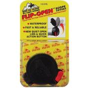 Butler Creek Flip-Open Scope Cover, Fits 3.7cm Eye, Size 9, Black