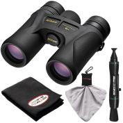 Nikon Prostaff 7S 10x30 ATB Waterproof/Fogproof Binoculars with Case + Cleaning + Accessory Kit