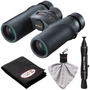 Nikon Monarch 7 8x30 ED ATB Waterproof/Fogproof Binoculars with Case + Cleaning + Accessory Kit