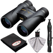 Nikon Monarch 5 10x42 ED ATB Waterproof/Fogproof Binoculars with Case + Cleaning + Accessory Kit